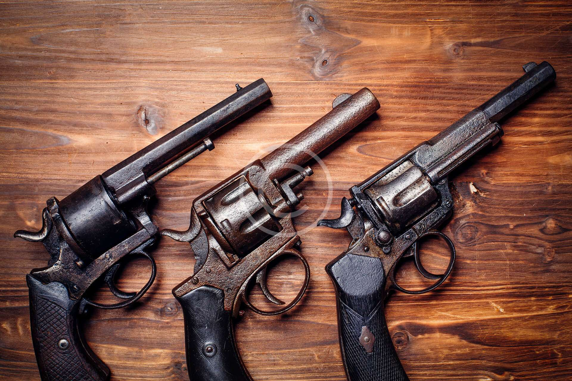 8 of the Most Iconic Old West Revolvers